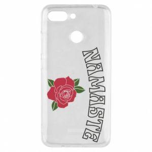 Phone case for Xiaomi Redmi 6 Namaste rose