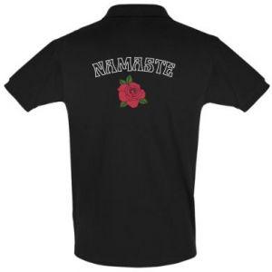 Men's Polo shirt Namaste rose
