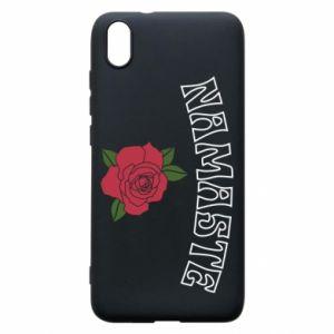 Phone case for Xiaomi Redmi 7A Namaste rose