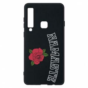Phone case for Samsung A9 2018 Namaste rose