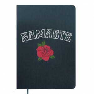 Notepad Namaste rose