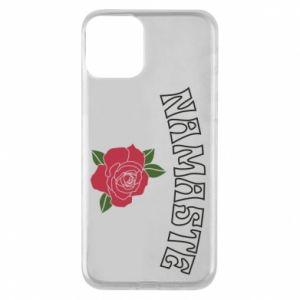 Phone case for iPhone 11 Namaste rose