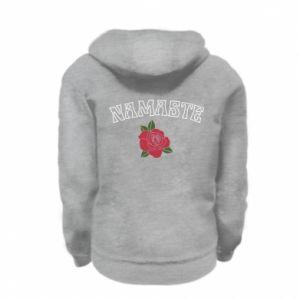 Bluza na zamek dziecięca Namaste rose