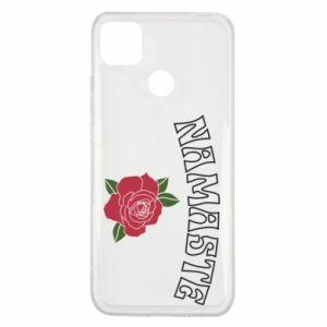 Etui na Xiaomi Redmi 9c Namaste rose