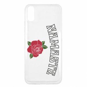 Etui na Xiaomi Redmi 9a Namaste rose