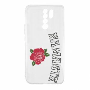 Etui na Xiaomi Redmi 9 Namaste rose