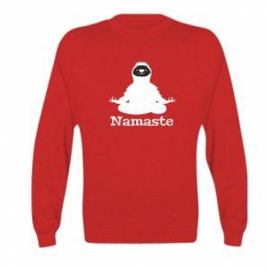 Kid's sweatshirt Namaste