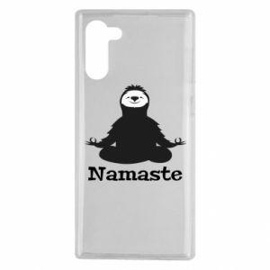 Samsung Note 10 Case Namaste