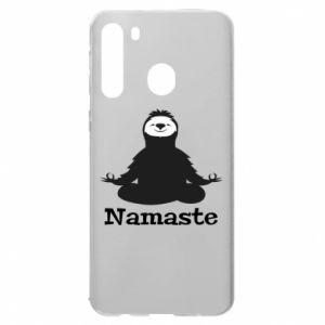 Samsung A21 Case Namaste