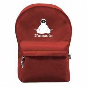 Backpack with front pocket Namaste