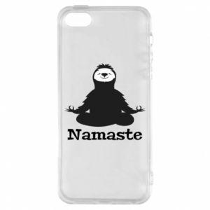 Phone case for iPhone 5/5S/SE Namaste