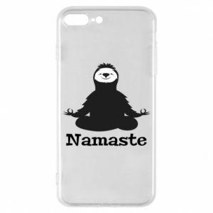 Phone case for iPhone 8 Plus Namaste