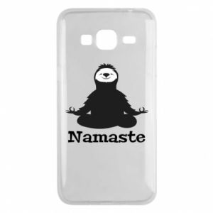 Phone case for Samsung J3 2016 Namaste