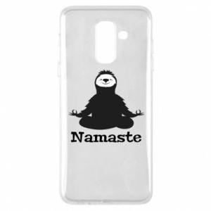 Phone case for Samsung A6+ 2018 Namaste