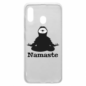 Phone case for Samsung A30 Namaste