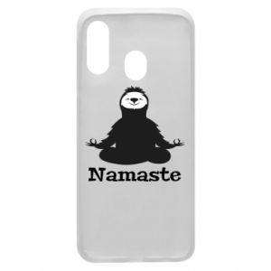 Phone case for Samsung A40 Namaste