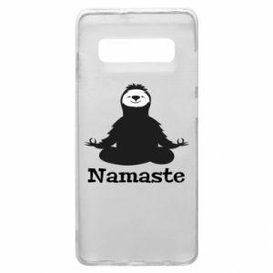 Phone case for Samsung S10+ Namaste