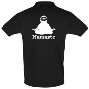 Men's Polo shirt Namaste