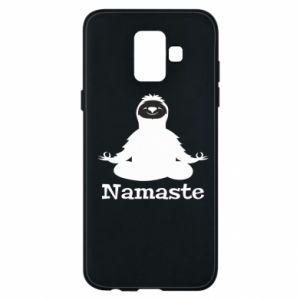 Phone case for Samsung A6 2018 Namaste
