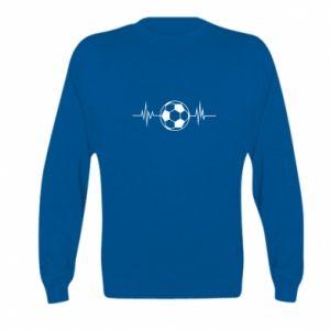 Kid's sweatshirt Namiętna piłka nożna