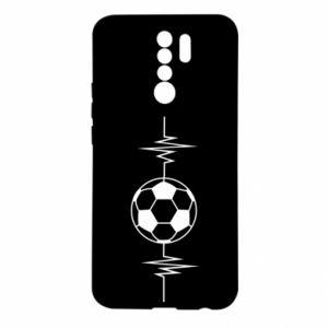Xiaomi Redmi 9 Case Namiętna piłka nożna