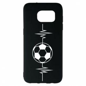 Samsung S7 EDGE Case Namiętna piłka nożna