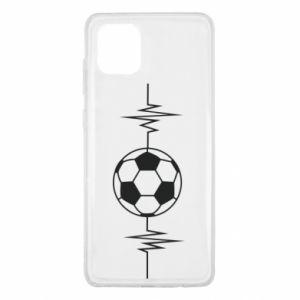Samsung Note 10 Lite Case Namiętna piłka nożna