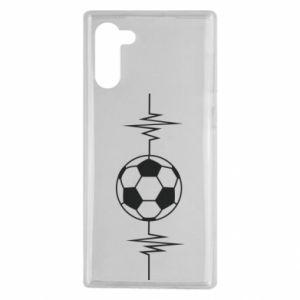 Samsung Note 10 Case Namiętna piłka nożna