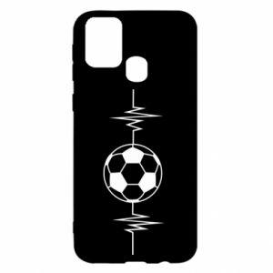 Samsung M31 Case Namiętna piłka nożna
