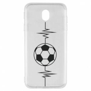 Samsung J7 2017 Case Namiętna piłka nożna