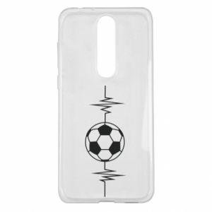 Nokia 5.1 Plus Case Namiętna piłka nożna