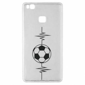 Huawei P9 Lite Case Namiętna piłka nożna