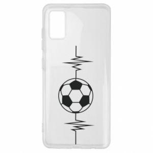 Samsung A41 Case Namiętna piłka nożna