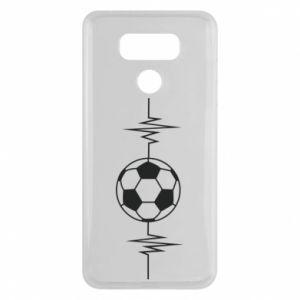 LG G6 Case Namiętna piłka nożna