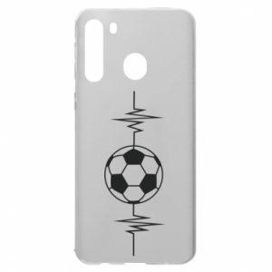 Samsung A21 Case Namiętna piłka nożna