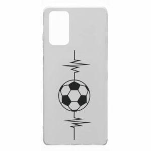 Samsung Note 20 Case Namiętna piłka nożna