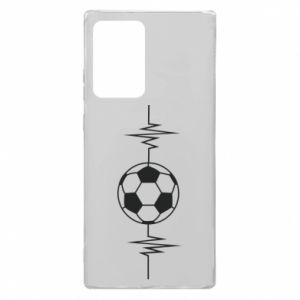 Samsung Note 20 Ultra Case Namiętna piłka nożna