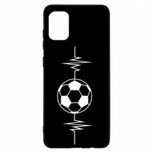 Samsung A31 Case Namiętna piłka nożna