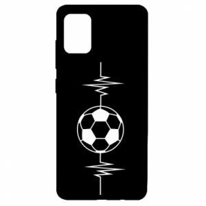 Samsung A51 Case Namiętna piłka nożna