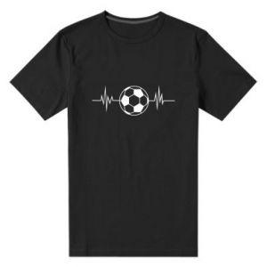 Men's premium t-shirt Namiętna piłka nożna