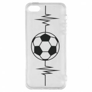 Phone case for iPhone 5/5S/SE Namiętna piłka nożna