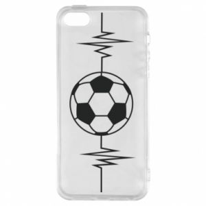 Etui na iPhone 5/5S/SE Namiętna piłka nożna