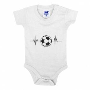 Baby bodysuit Namiętna piłka nożna