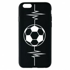 Phone case for iPhone 6/6S Namiętna piłka nożna