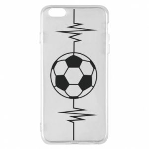 Phone case for iPhone 6 Plus/6S Plus Namiętna piłka nożna