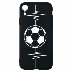 Phone case for iPhone XR Namiętna piłka nożna