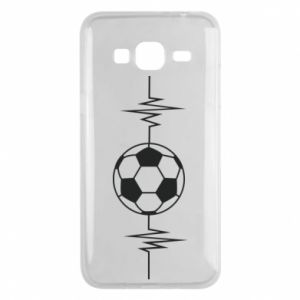 Phone case for Samsung J3 2016 Namiętna piłka nożna