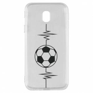 Etui na Samsung J3 2017 Namiętna piłka nożna