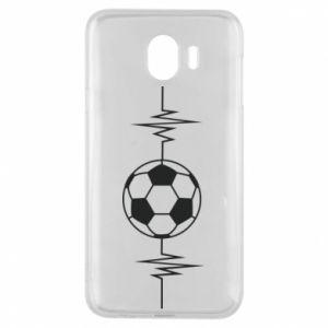 Phone case for Samsung J4 Namiętna piłka nożna