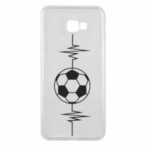 Phone case for Samsung J4 Plus 2018 Namiętna piłka nożna
